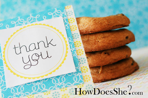 "Free printable ""thank you"" printables"