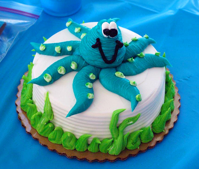 Under the Sea smash cake