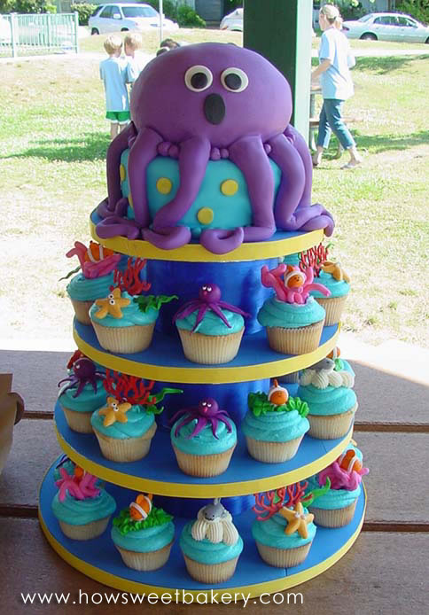Gallery For gt Dolphin Ocean Cakes