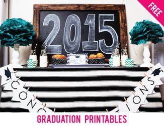 Free graduation printables!