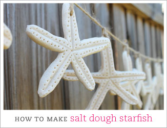 How to make salt dough starfish