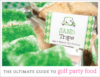 The ultimate guide to golf party food