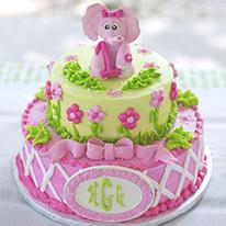 Lilly Pulitzer elephant theme birthday party