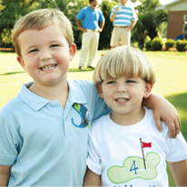 Golf theme birthday party