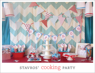 Cooking theme party