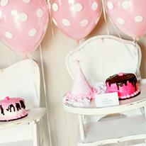 Sweet Shoppe theme 1st birthday party
