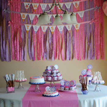 Little monster party: Tressie is 1!