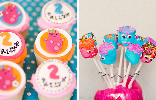Little Monsters party treats
