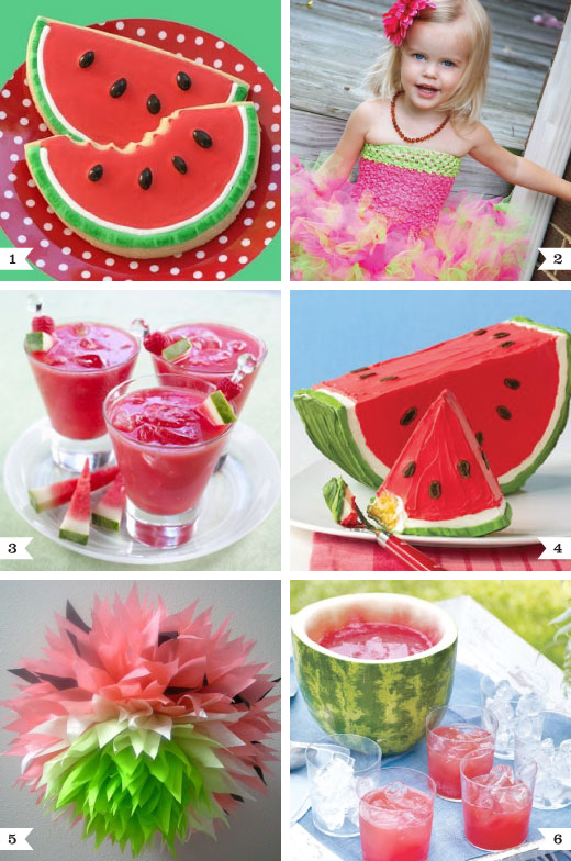 watermelon party ideas chickabug
