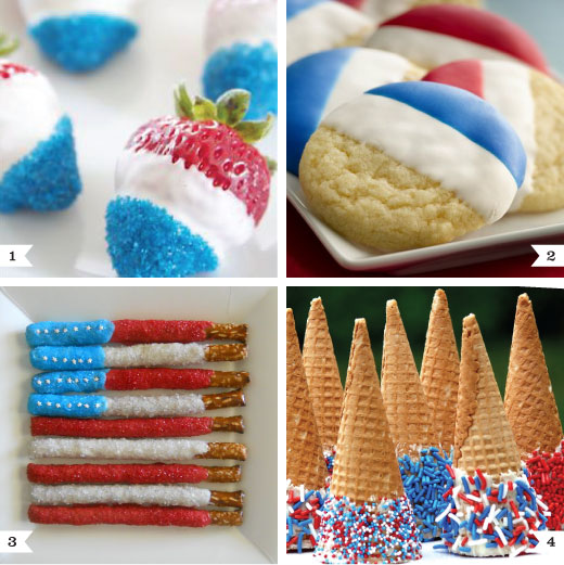 Last minute 4th of july desserts chickabug for Fourth of july party dessert ideas