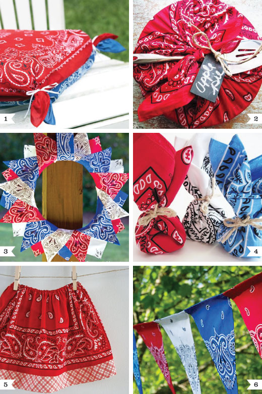DIY projects you can make with bandannas!