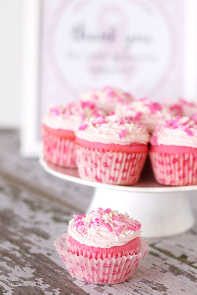 Pink velvet cupcake recipe and giveaway - go pink and BAKE ...