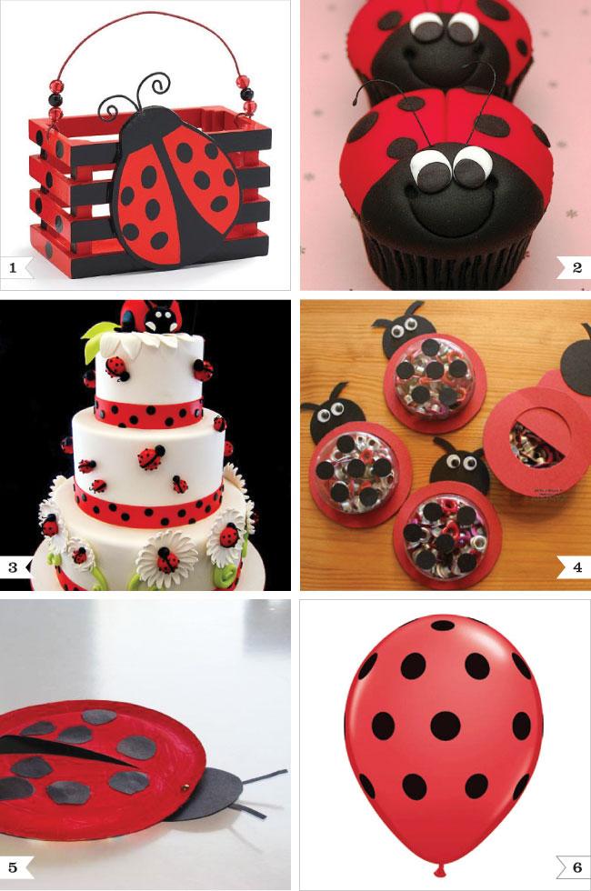 Ladybug party ideas | Chickabug