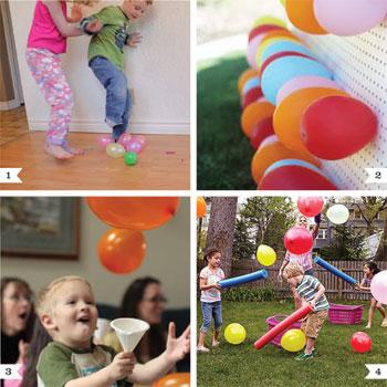 balloon party game ideas chickabug