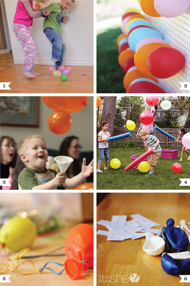 Balloon party game ideas | Chickabug