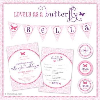 Butterfly baby shower theme ideas