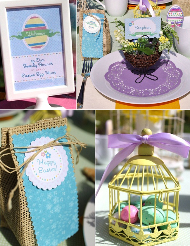 Chickabug Easter printables collection as seen on Celebrations at Home