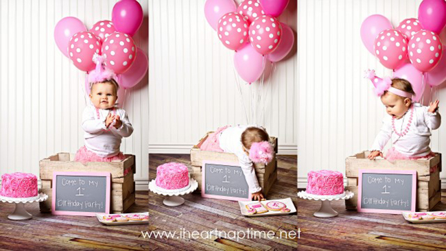 Pretty in Pink birthday photo shoot