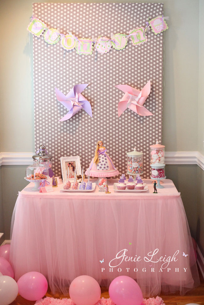 Tangled princess party1