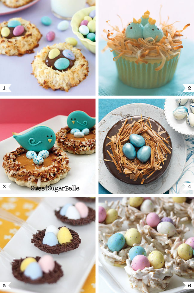 Bird 39 s nest desserts for easter chickabug for Good desserts for easter