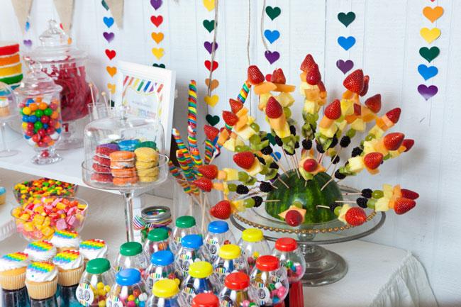 Rainbow Party Hannah Is 10 Chickabug