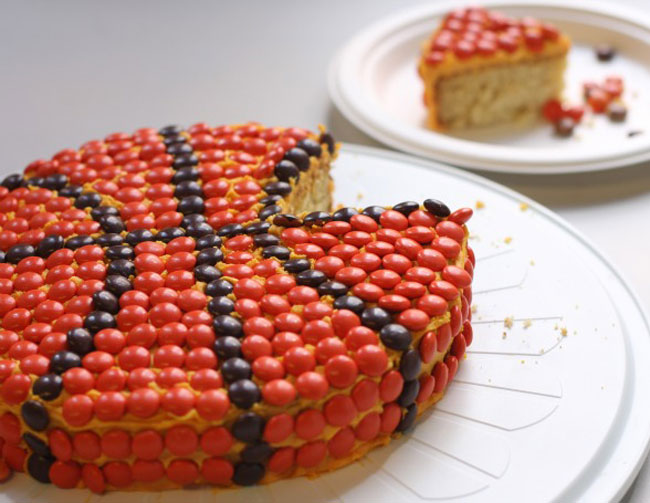 Reese S Pieces Birthday Cake