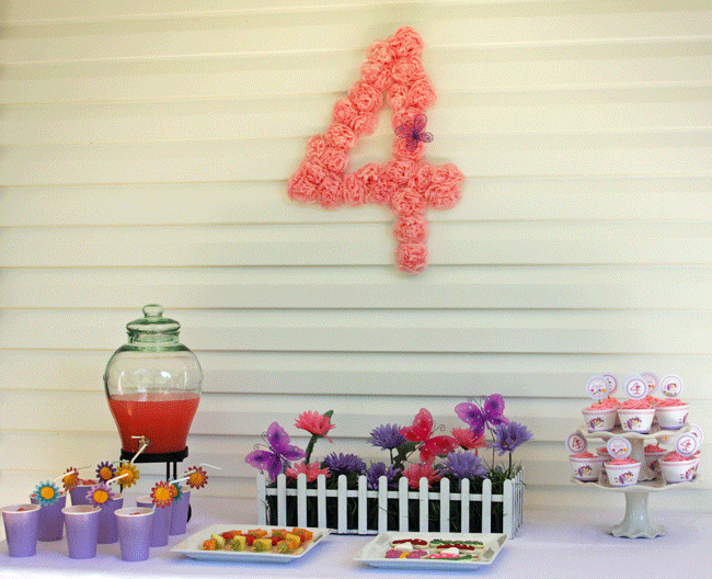 Garden fairy party: Lynlee is 4! | Chickabug