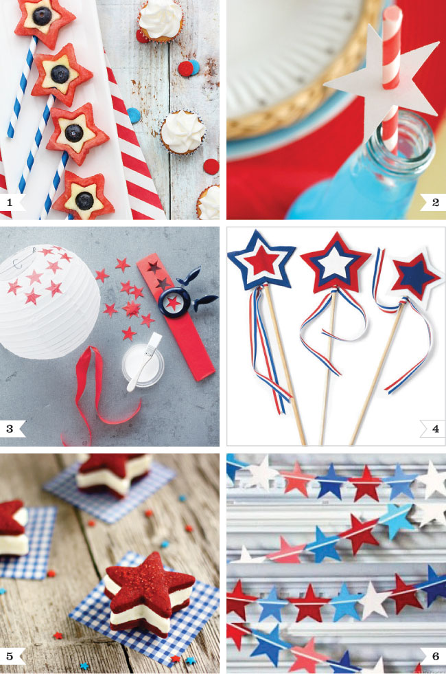 4th of july star theme ideas chickabug for 4th of july celebration ideas