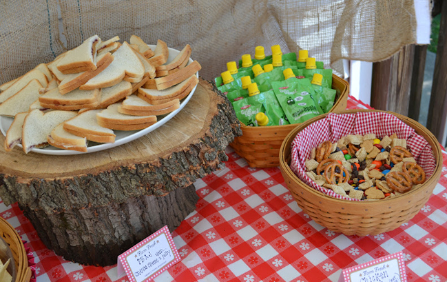 Country western party food