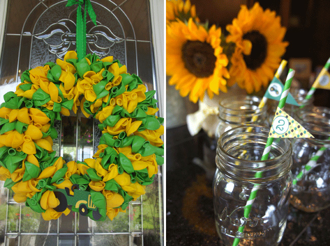 John Deere party decor