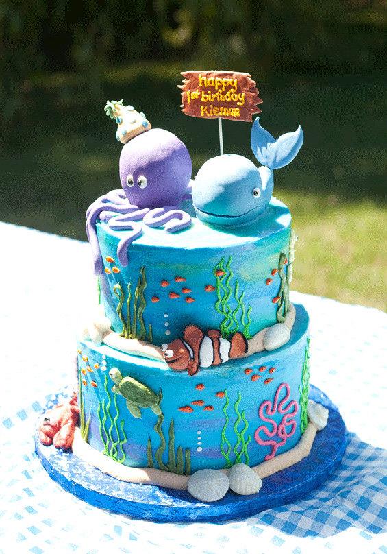 Target Monthly Box: Under The Sea Party: Kiernan Is 1!