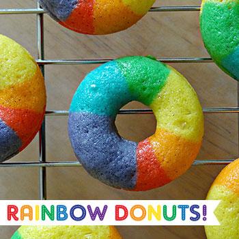 Rainbow Donuts Chickabug