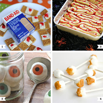 Creepy And Scary Halloween Party Food Ideas Chickabug