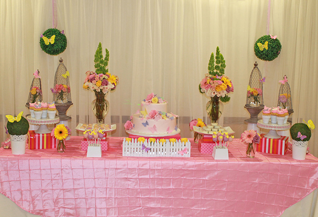 Butterfly baby shower by Simple Divine Event Decor | Chickabug