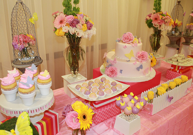 guests were treated to sweets made by the sugar shop and the sweet