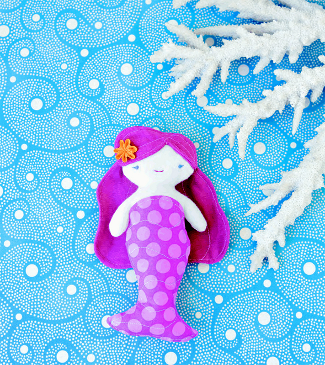 Mermaid party favor - pocket-sized DIY mermaid dolls!