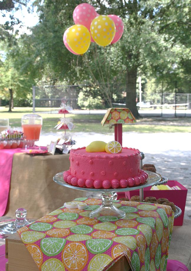 Pink Lemonade Party Ellison Is 6 Chickabug