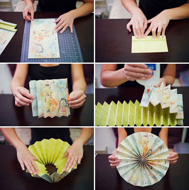 How to make paper rosettes chickabug for Handmade things step by step