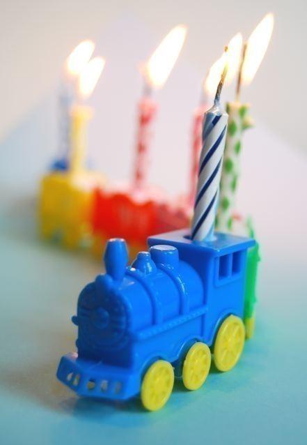 One Pretty Pin Birthday Train Chickabug