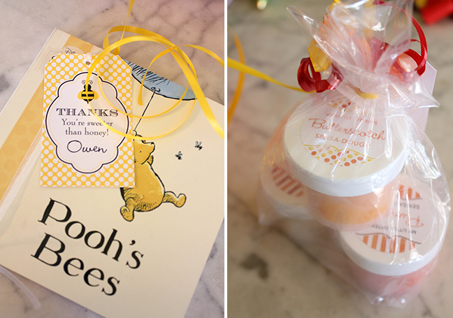 Winnie The Pooh First Birthday Party Favors