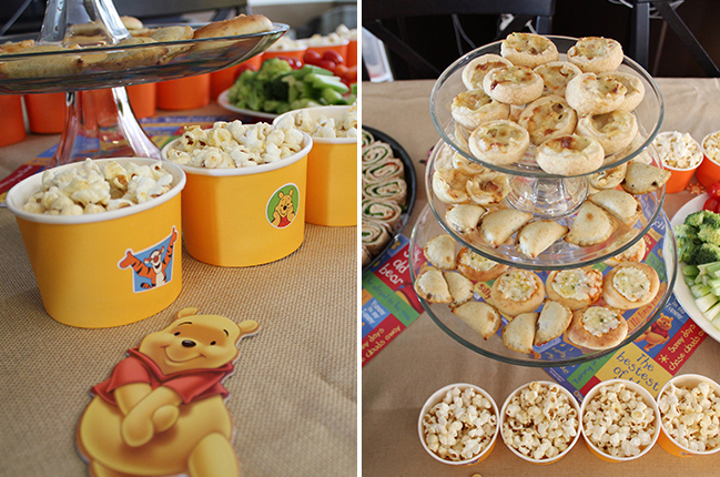 Winnie The Pooh First Birthday Party Food