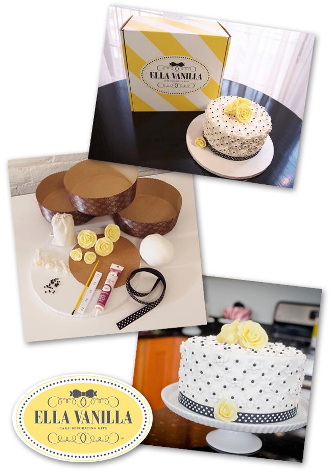 Ella Vanilla Cake Kits - www.EllaVanillaCakeKits.com