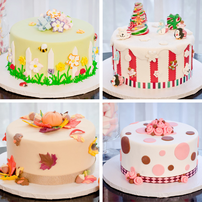 The gallery for --> Vanilla Cake Decorating Ideas