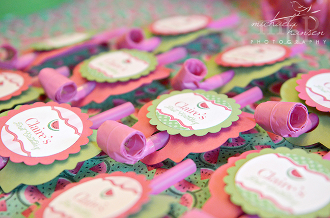 Watermelon party: Claire is 1! | Chickabug