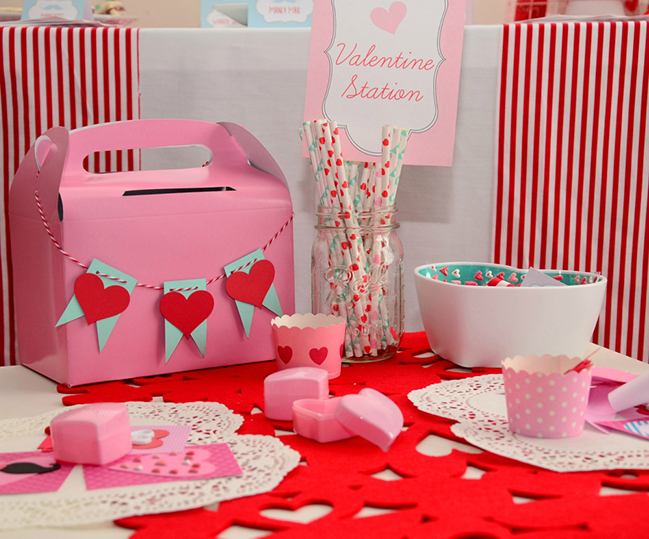 """Staches and Sweethearts"" Valentine's Day Party"