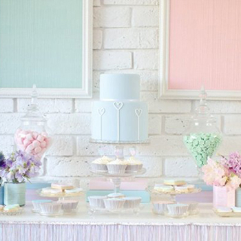 Pastel Valentine's Day Party
