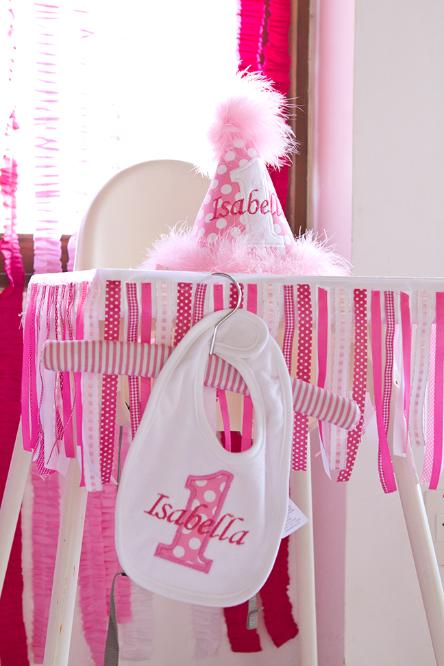 Sweet shoppe 1st birthday party high chair