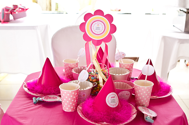 Sweet shoppe 1st birthday party - printables from Chickabug