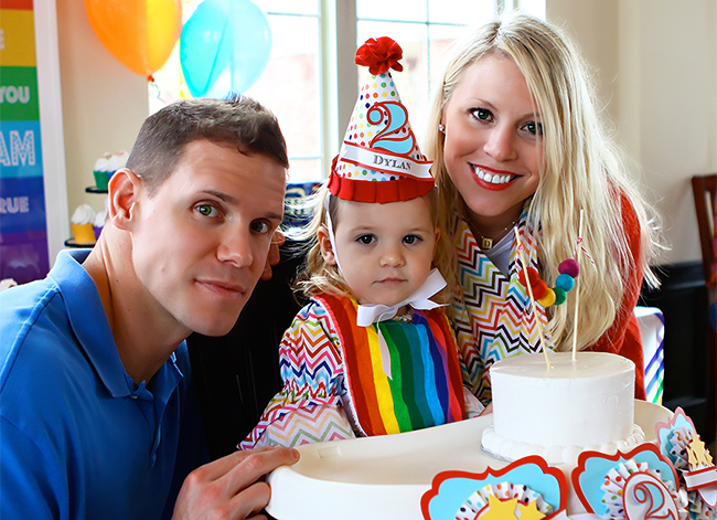 Amazing rainbow theme birthday party!