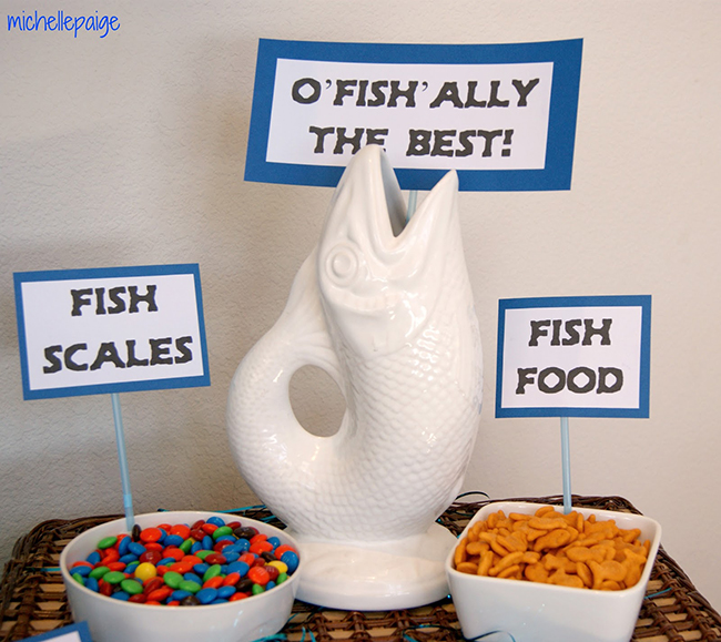 Father's Day fishing theme party